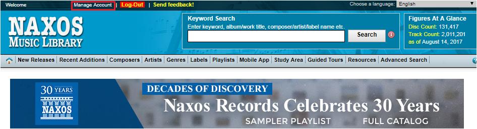 Usage Statistics – Naxos